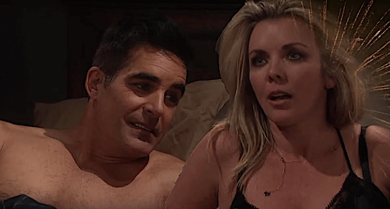 Days Of Our Lives Spoilers Steamy Cafe Hookup Sets Off Major Bedroom Fireworks As Carrie Rafe Get Back Together Daily Soap Dish