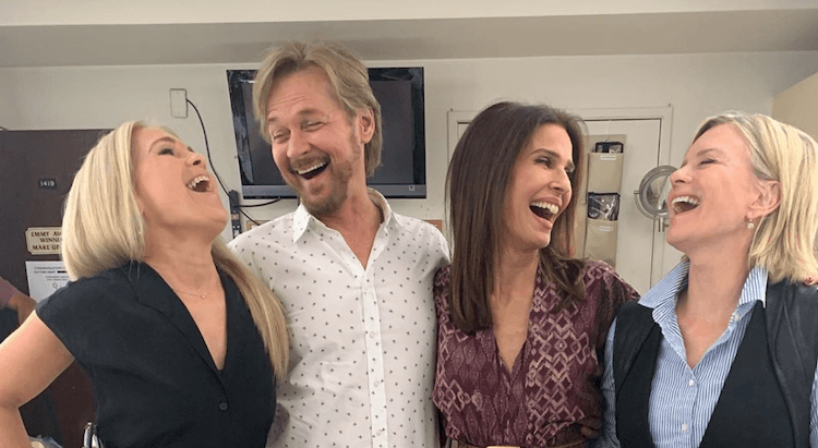 Nbc Days Of Our Lives Spoilers Stephen Nichols Steve Patch Johnson And Mary Beth Evans Kayla Brady Youtube News Daily Soap Dish