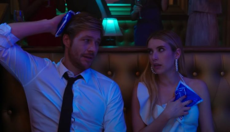 Netflix S Holidate Stars Emma Roberts And Luke Bracey As Two People Who Accidentally Fall In Love Daily Soap Dish